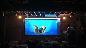 福田海松大厦P3室内全彩LED显示屏